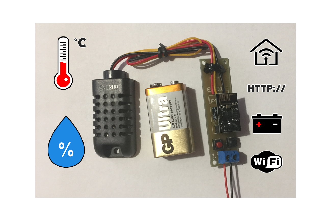 Low Power Temperature and Humidity WiFi tracker s2
