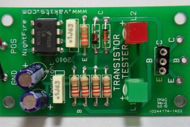 Bipolar Transistor Tester Kit (#1757)