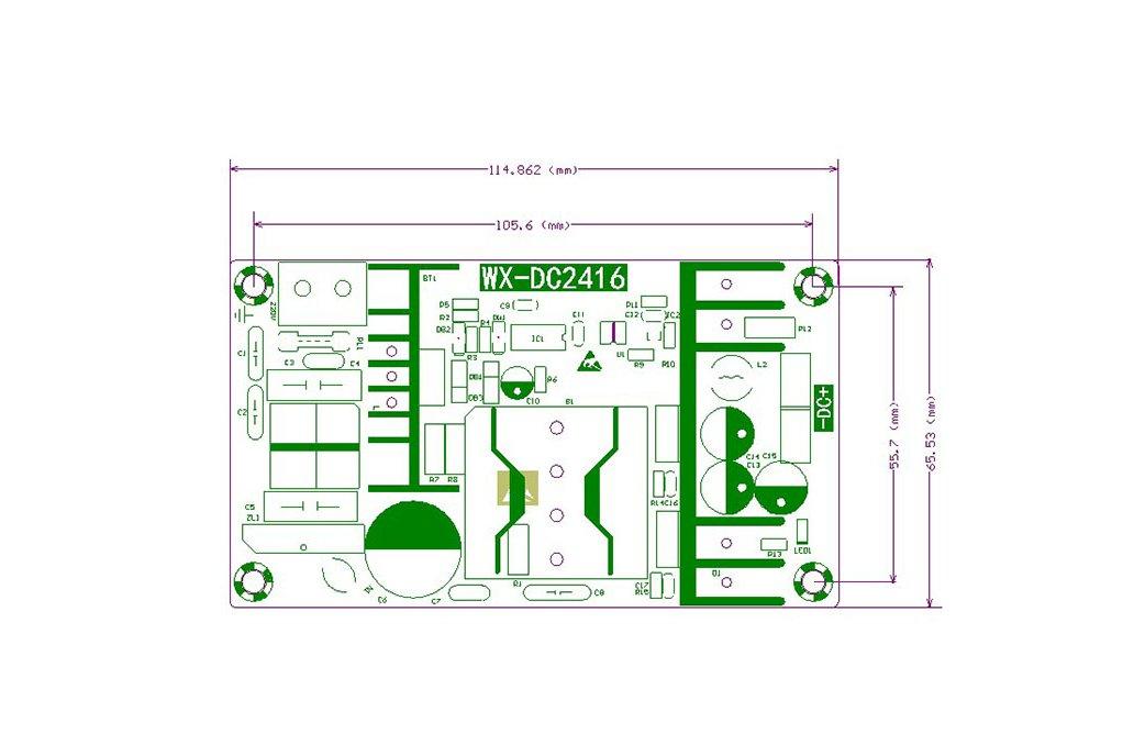 Power Supply Module - AC 100-240V 50/60HZ 3