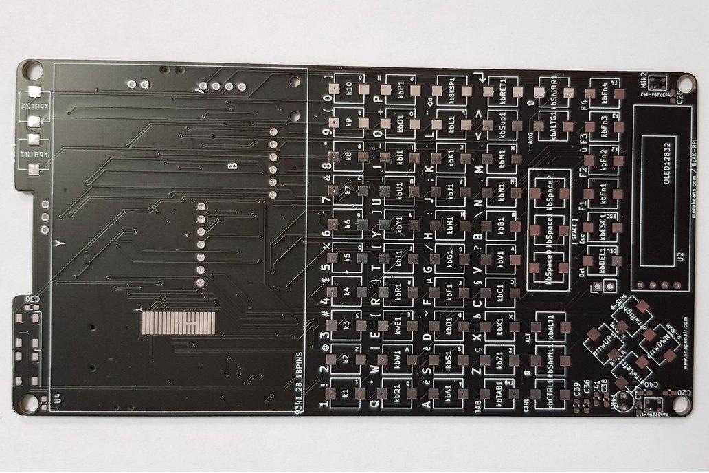 SnapOnAir BLAK RPI - PI ZERO PCB 1
