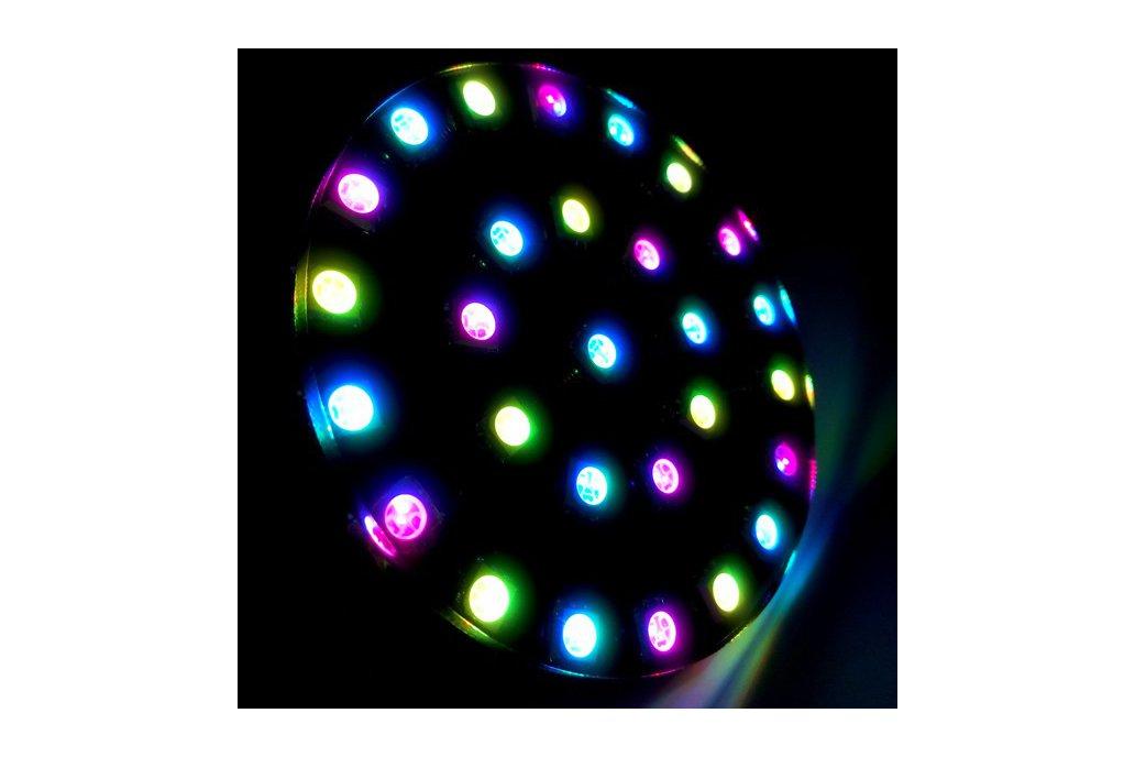 DIY Wearable RGB LED Crystal Energy Ring Kit 3