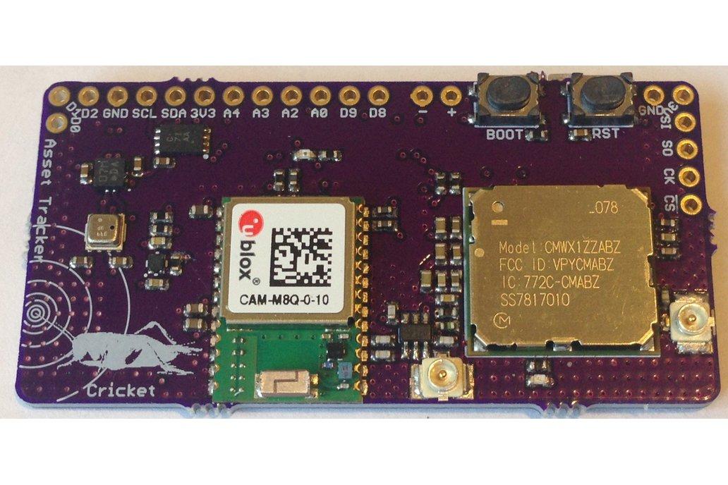 Cricket LoRa/LoRaWAN/GNSS Asset Tracker 4