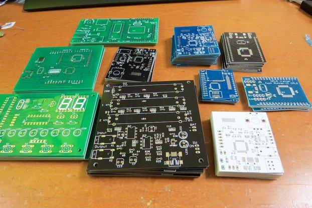 10 PCBs set of retired kit