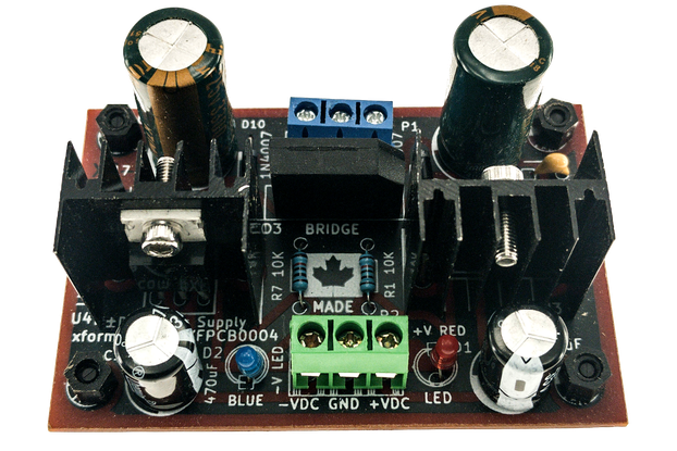 Dual Voltage AC to ±DC Power Supply -18VDC 0V +18V