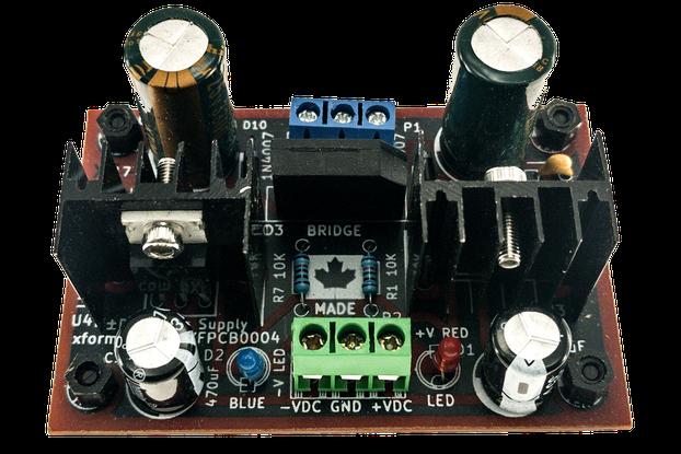 Dual Voltage AC to ±DC Power Supply -18VDC 0V +18V