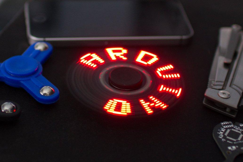 Arduino POV Fidget Spinner 3