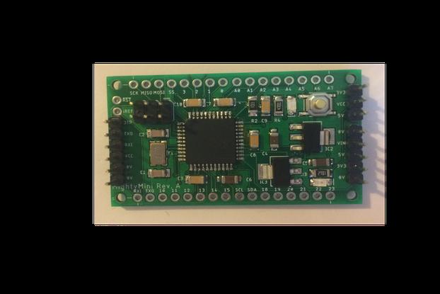 MightyMini 644/1284 MCU board for Arduino