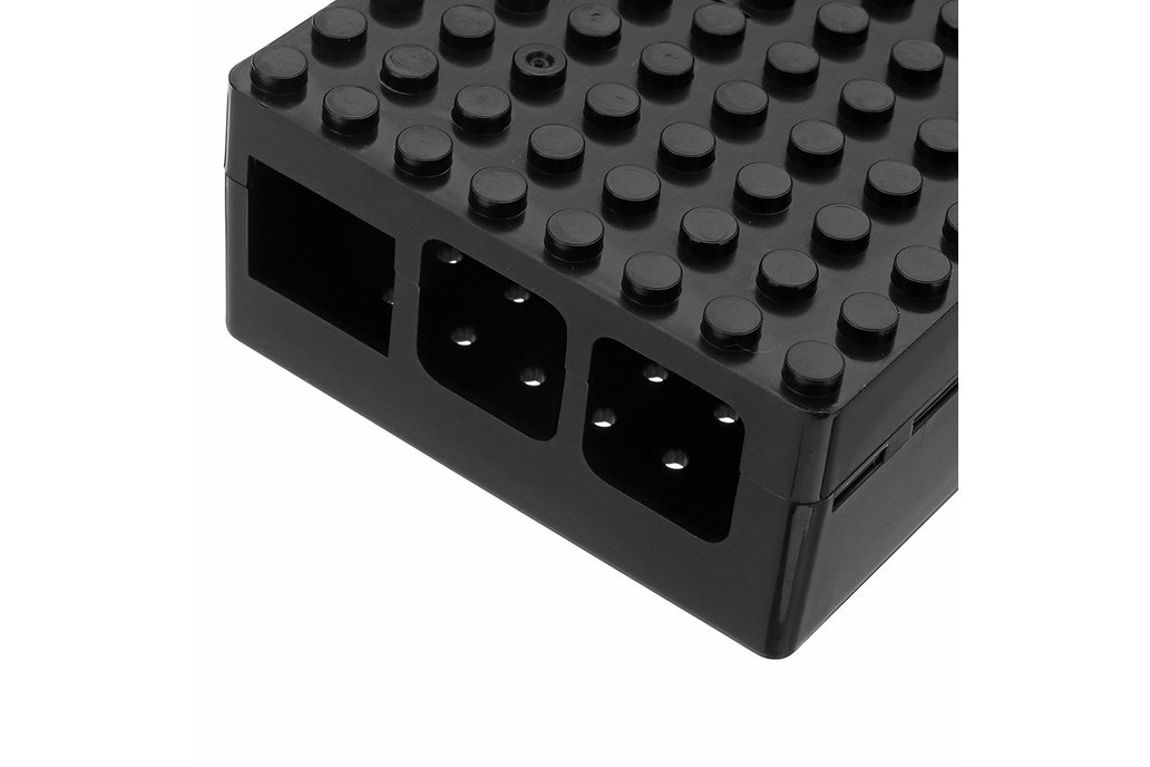 Black ABS Enclosure Box For Raspberry Pi 3 7