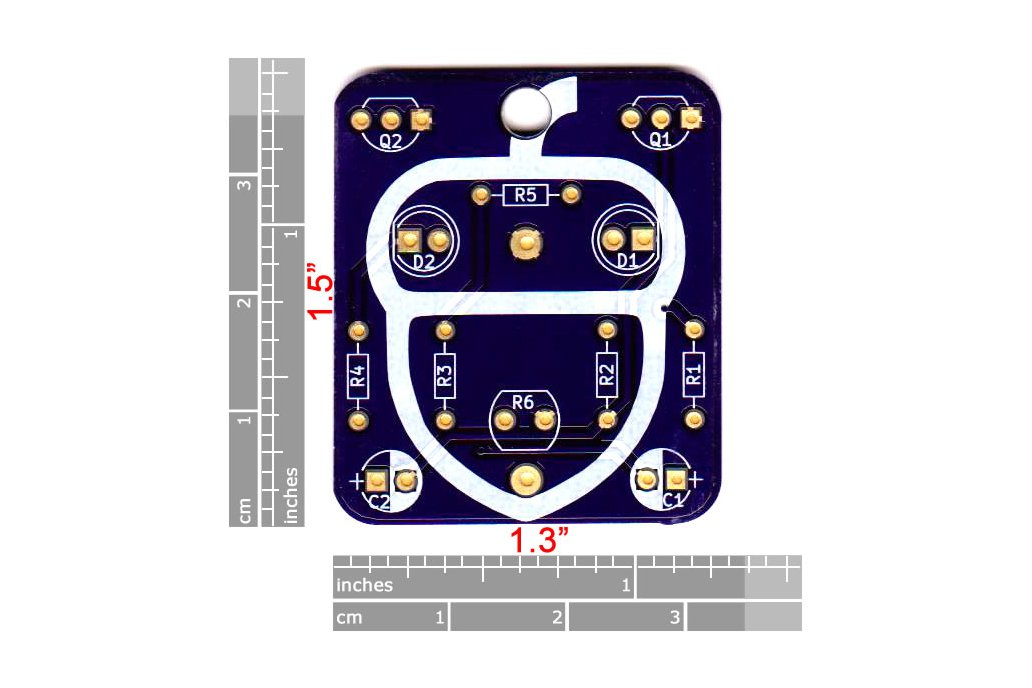 Acorn: Wearable Blinky-Board Soldering Skills Kit 3