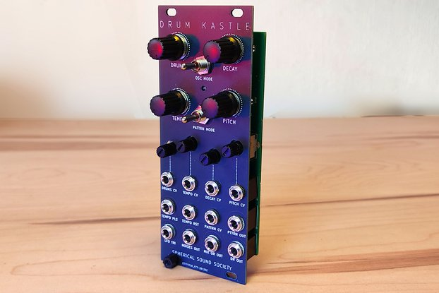 Euro Kastle Synth Module v1.5 (Eurorack version)