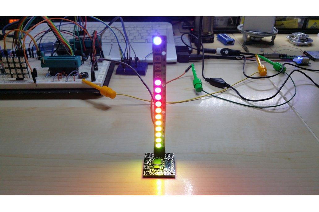 OLEDiUNO Neopixel VU-Meter