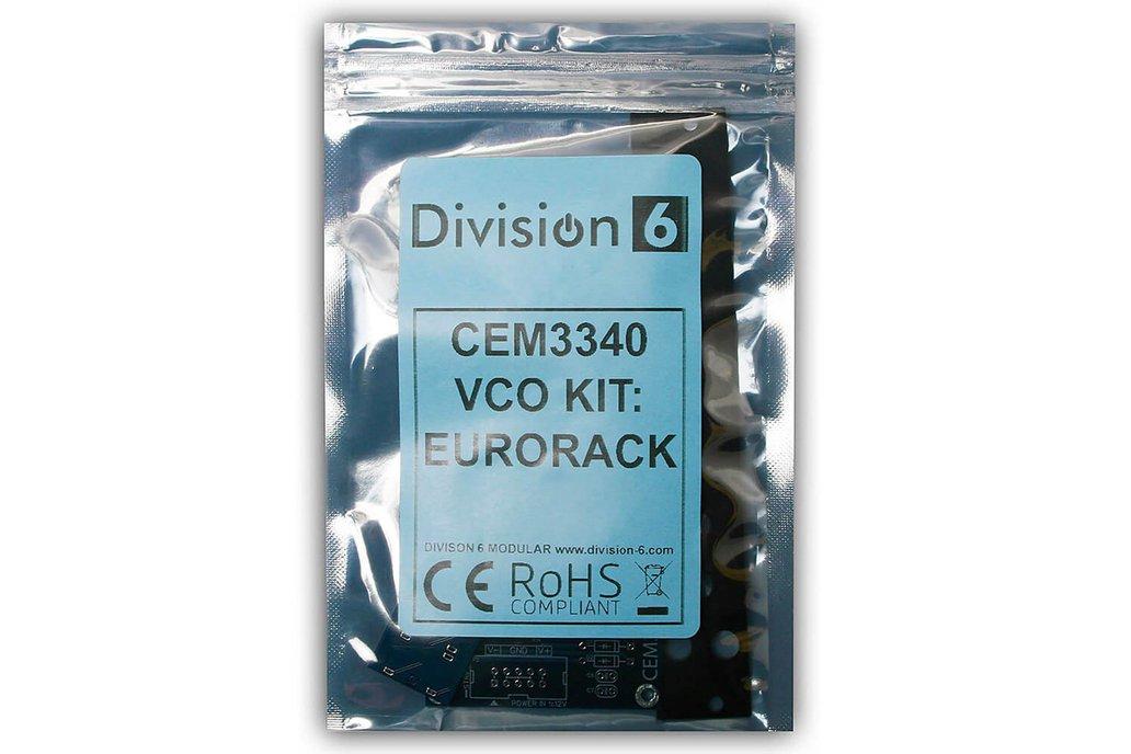 Division 6 CEM3340 VCO DIY Kit 1