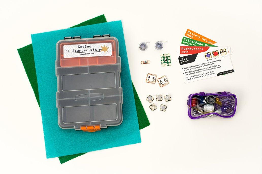 Crazy Circuits Sewing Starter Kit 1