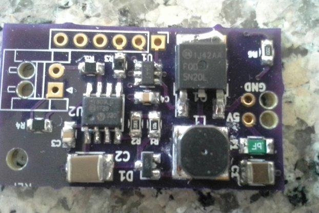 Silent El Wire Inverter 2x Brightness Proto PCB