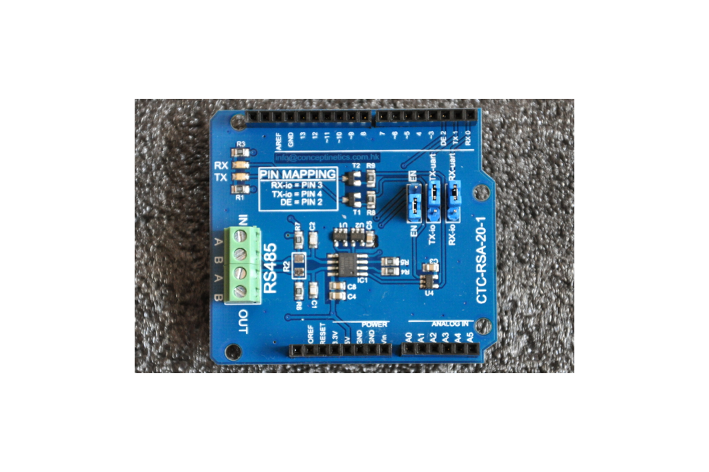 RS485 RS422 Shield for Arduino 1