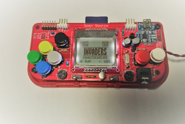 Gamebuino Portable Console - Open Hardware/Source