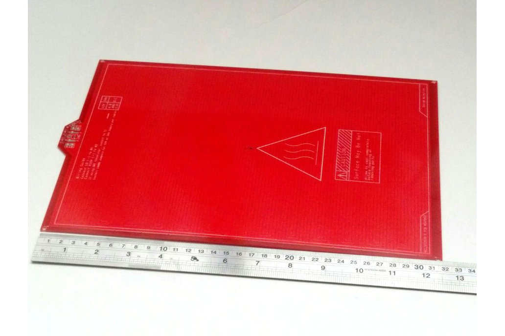 PCB Heatbed for 3D printers 200 x 300mm 1