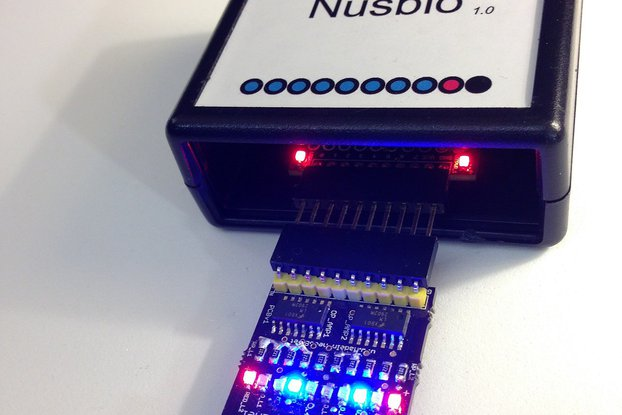8 On Board LEDs Panel For Nusbio
