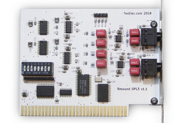 Resound OPL3 – 4 Channel Sound Card 8-Bit ISA