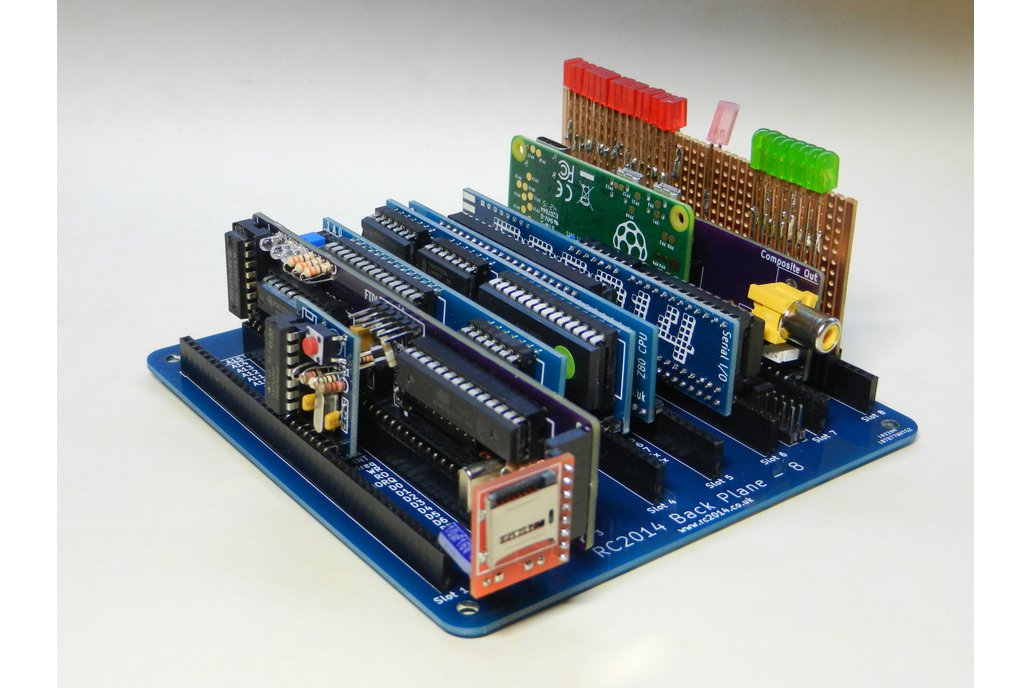 Backplane 8 For RC2014 - Z80 Homebrew Computer 8