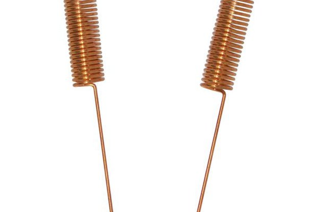 10pcs SW490-TH14 copper plated spring antenna