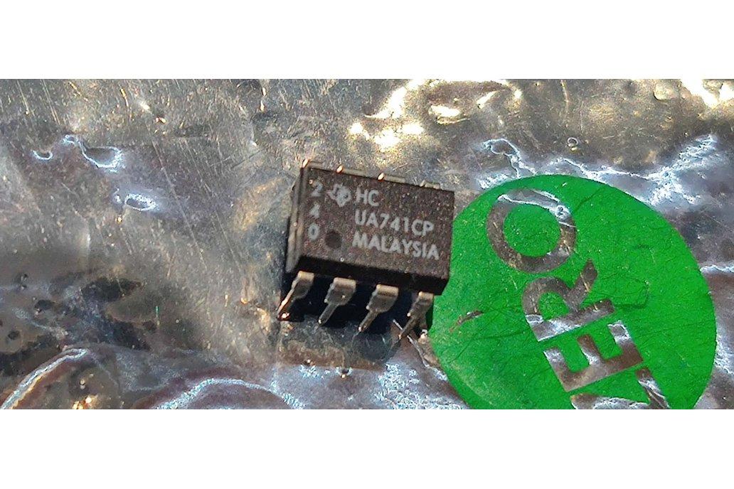 UA741CP by TI 10pcs 1