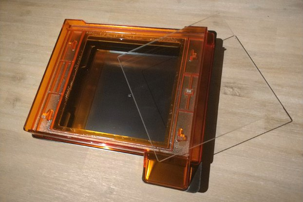 Resin tank glass window for Formlabs Form 2