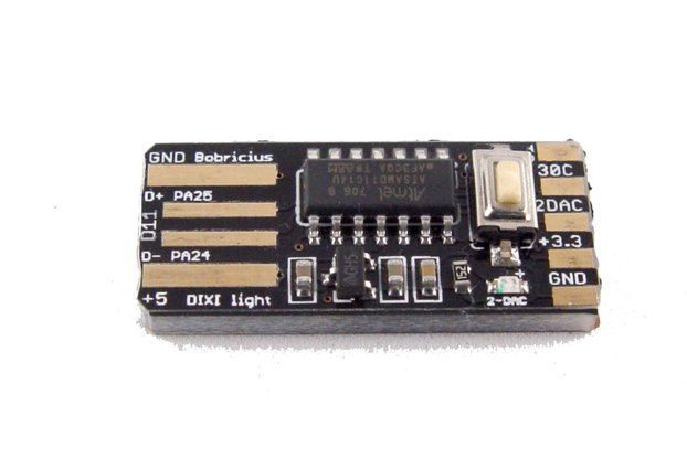 DiXi - arduino SAM ARM D11 USB stick