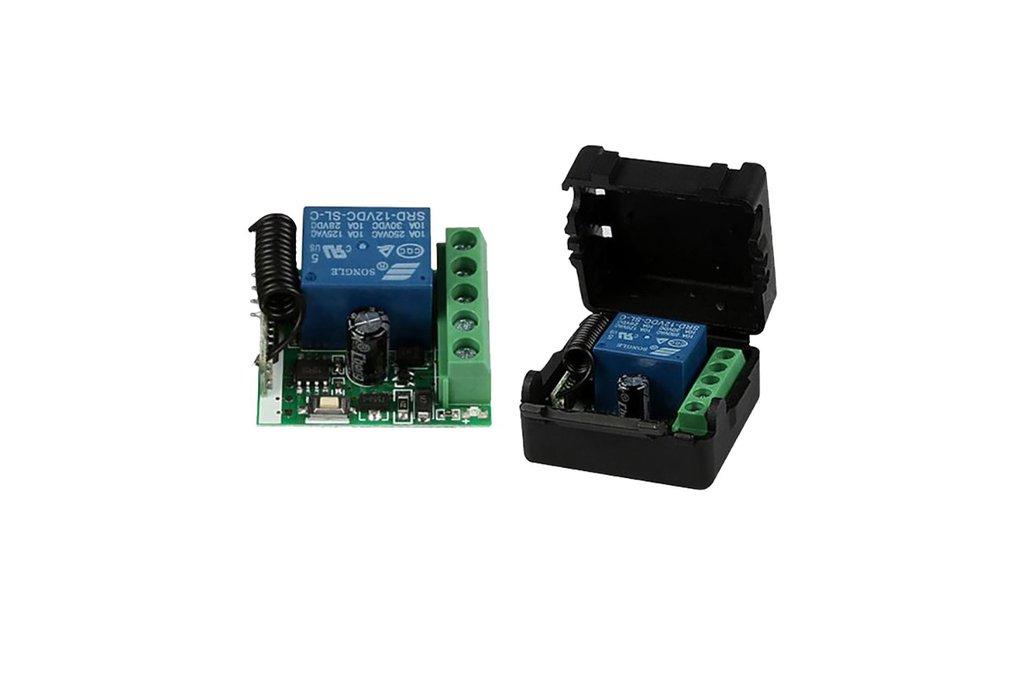 1-Channel Wireless Relay Receiver 433MHz 1