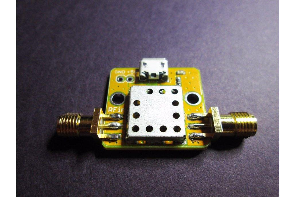 915 MHz ISM Pre-Filtered LNA; 26MHz BW 15dB Gain 1