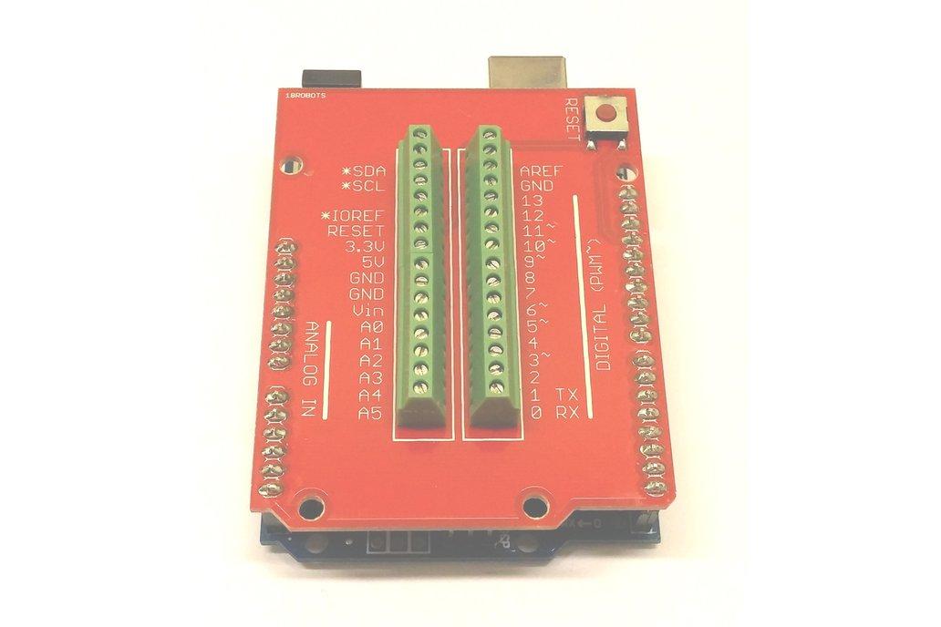Mini Screw Terminal Shield for Arduino 7