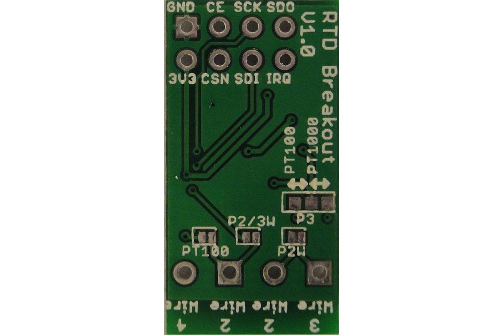 MAX31865 RTD temperature sensor breakout board 4