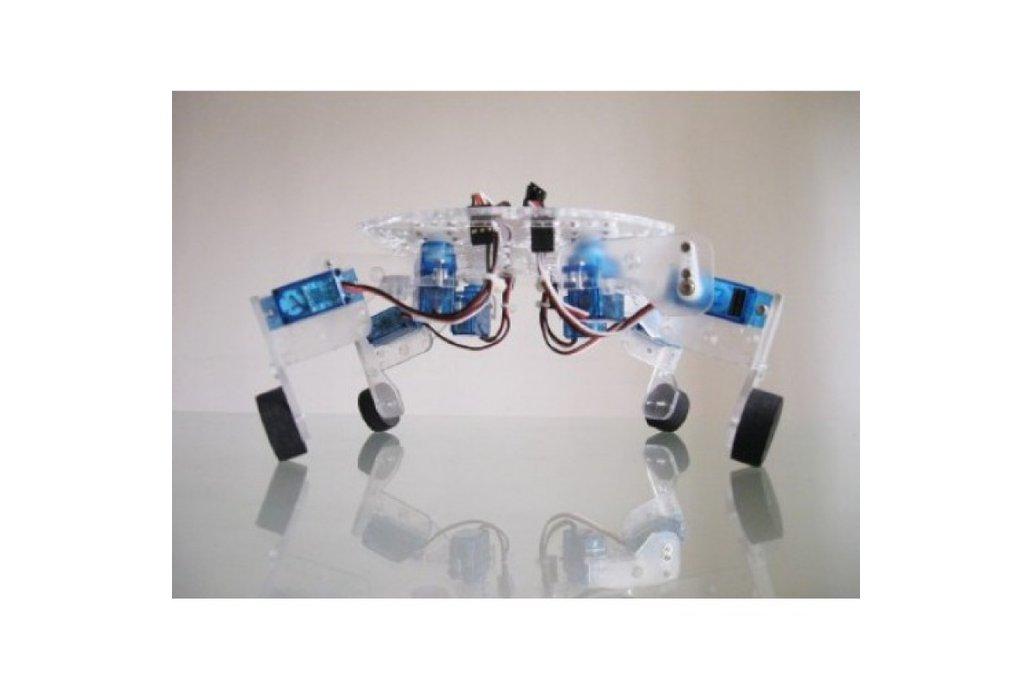 QuaBot quadruped robot chassis with 8 Servo motor 1
