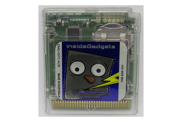 Gameboy 4MB 128KB SRAM Flash Cart