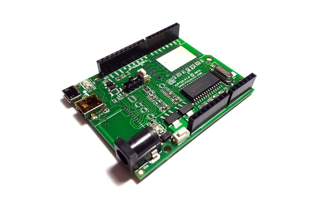 iCP12A - 5mV DAQduino (6 Ch USB Oscilloscope)   1