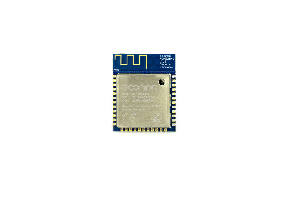 acn52840 Bluetooth Module; Made for BT5 long range 1