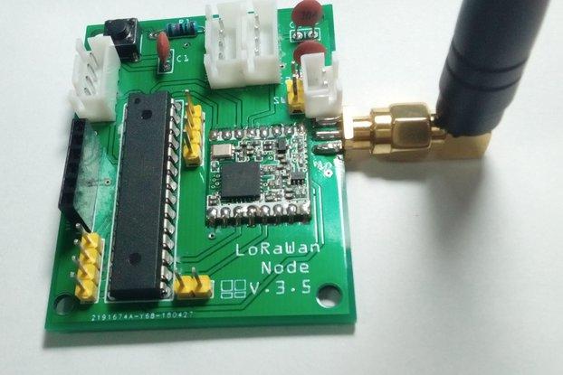 Low power LoRaWan Node Model A328