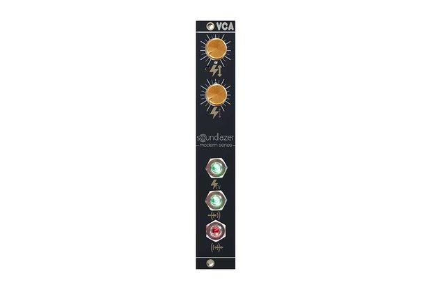Voltage Controlled Amplifier Eurorack Module - VCA