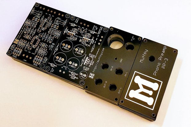 Muffsy Phono Preamp - PCBs