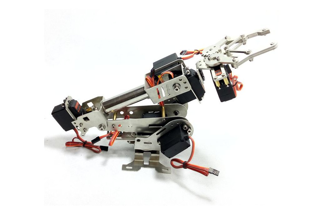 Stainless Steel 6 DoF Metal Robot Arm 1