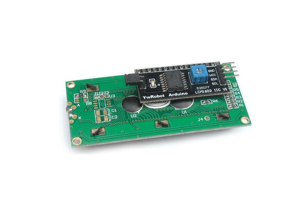 Blue LCD module (IIC/I2C 1602) 2