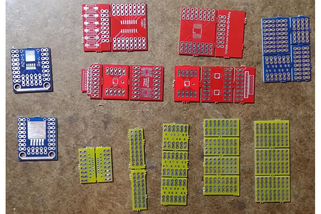 Mini protoboard pieces - 28 pcs set only $6! 3