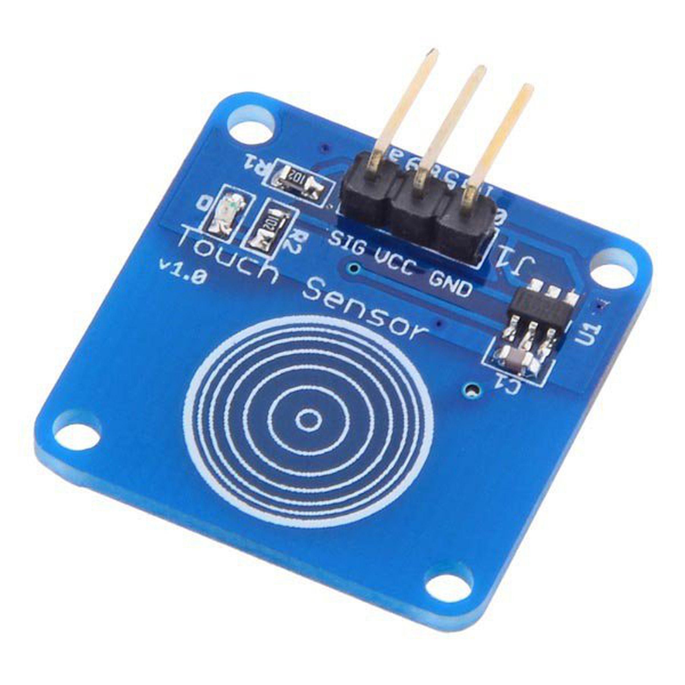 Jog Type Touch Sensor Module Capacitive Switch For Circuit Arduino 1