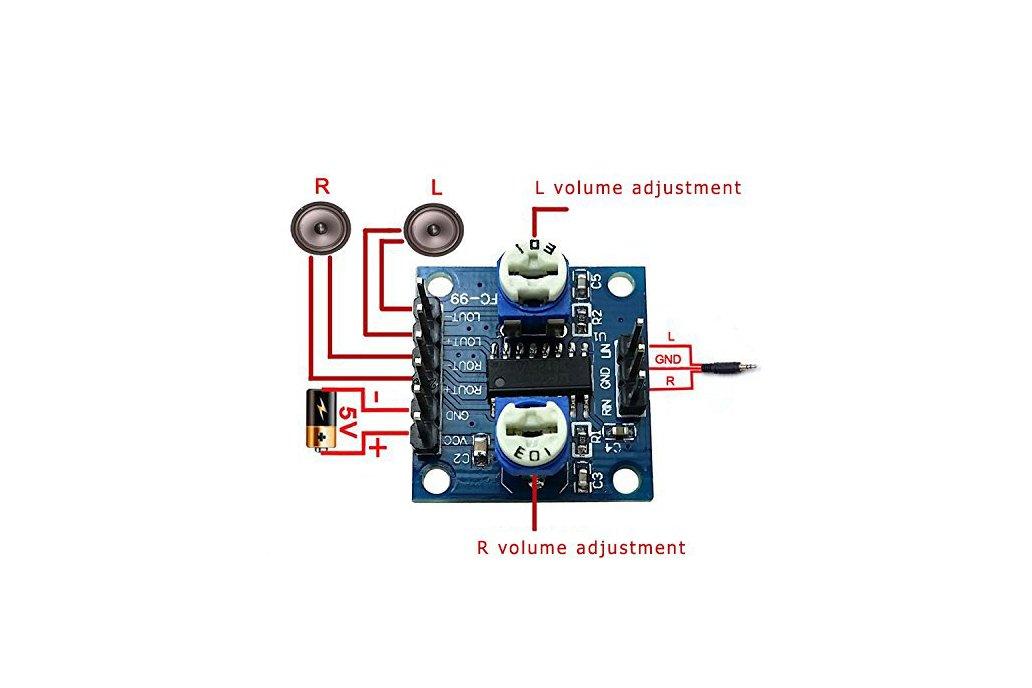 PAM8406 Digital Amplifier Board(5273) 2
