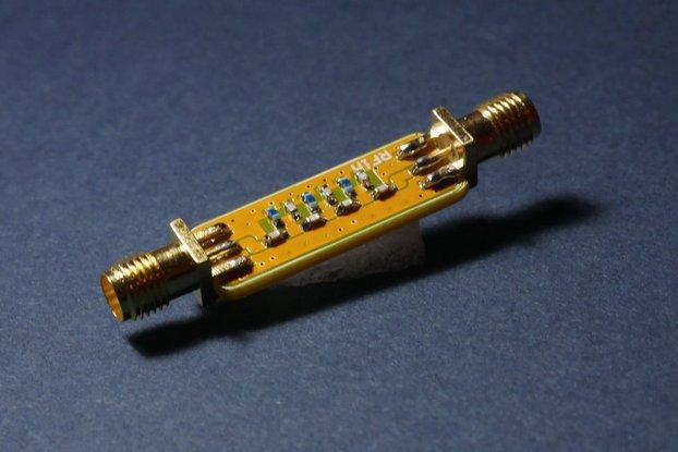 Airband Bandpass Filter; 118-138 MHz