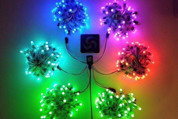 SMD 6 Output Wemos D1 Mini Wi-Fi LED Controller