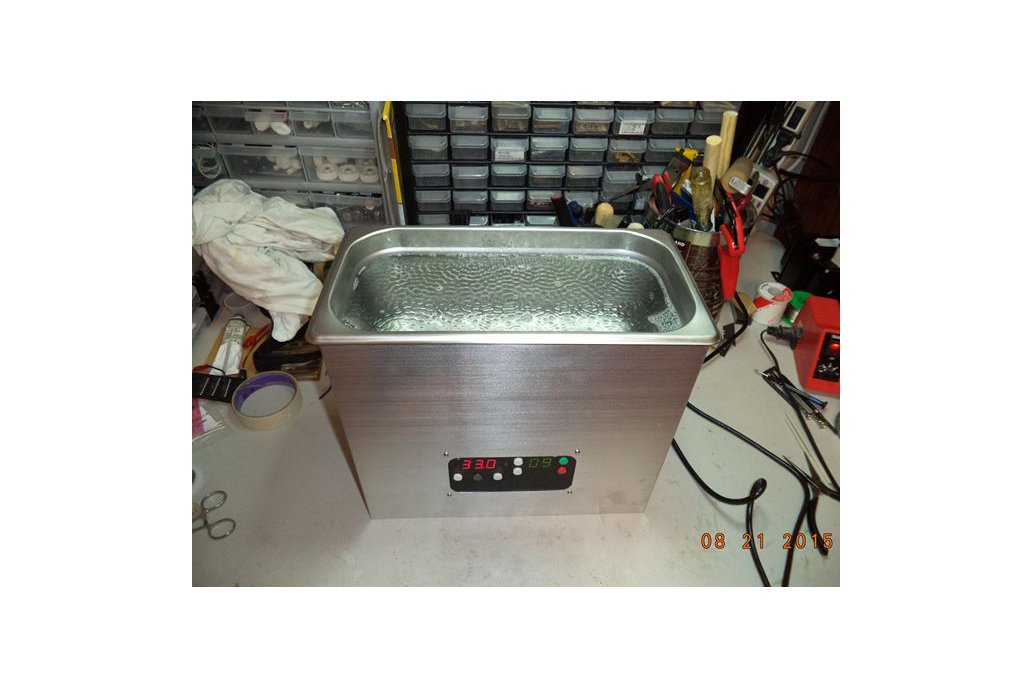 Vibrato 6 Quart 80KHz Ultrasonic Cleaner 4