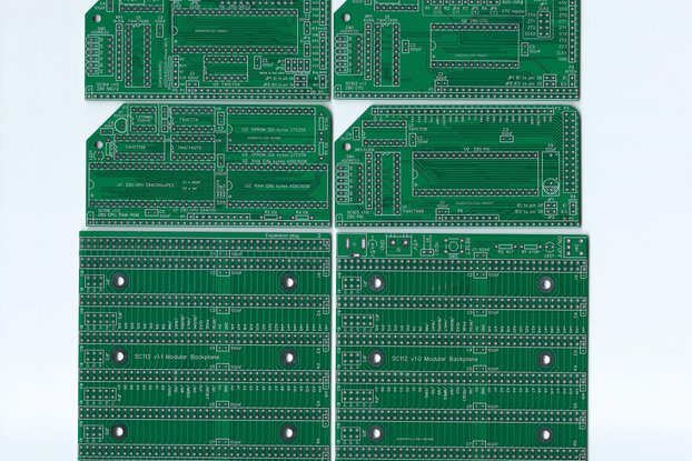 Set of Boards for a flexible RC2014