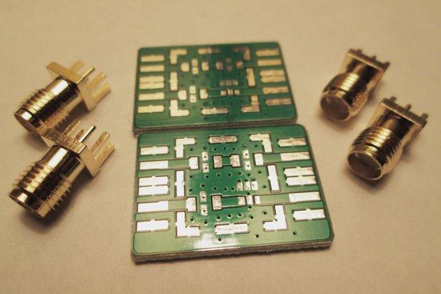 Mini-circuits LTCC filter design kit (LFCN HFCN)