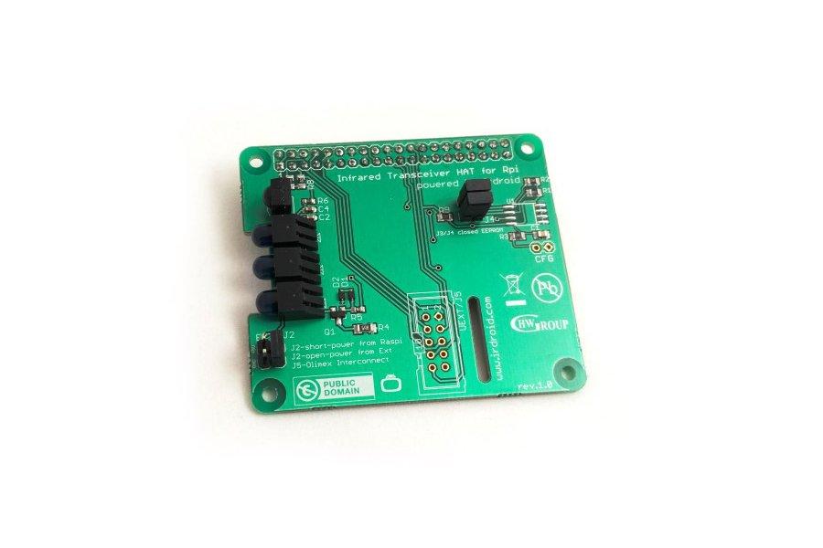 Irdroid-Rpi Infrared Transceiver for Raspberry Pi